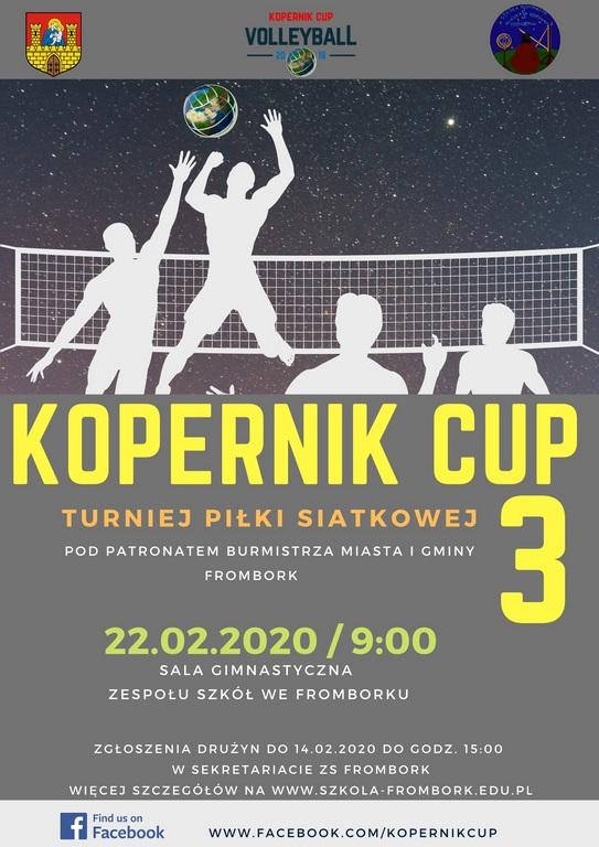 Turniej Piłki Siatkowej KOPERNIK CUP 3