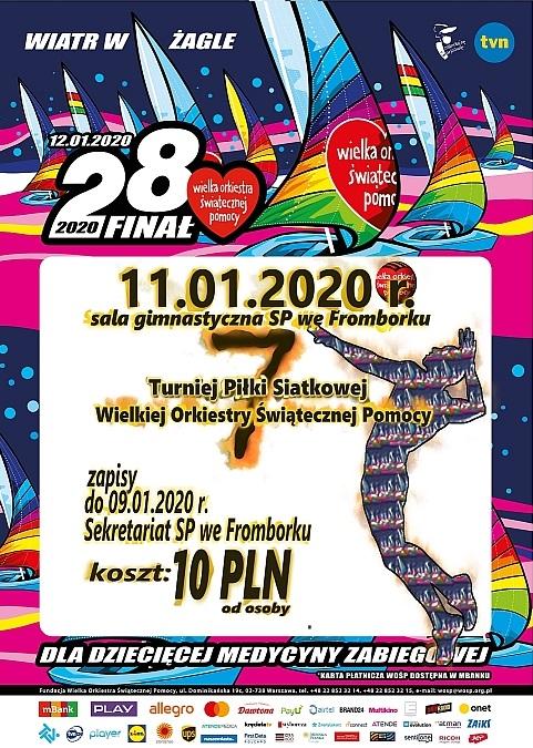 Turniej Piłki Siatkowej WOŚP